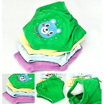 Baby Newborn / Layers Waterproof Potty Training Pants, Dessin animé en coton réutilisable