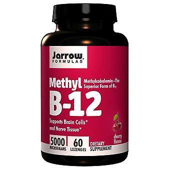 Jarrow Formulas Methyl B-12, 5000 mcg, 60 lozenges