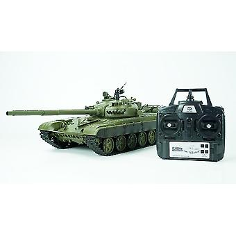 Heng Long RC Tank Russian T- 72 Version 6.0 Smoke& Sound Metal Gearbox 1:16