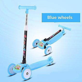 Children's, Kids Scooter Balance Bike, Tricycle, Ride On Flash Folding Baby Car