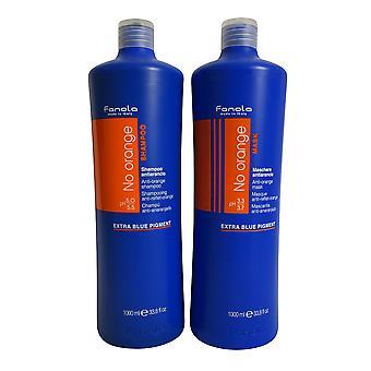 Fanola No Orange Shampoo & Masque Set 33.8 OZ each