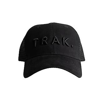 Trak Athletic Logo Trucker Cap | Black