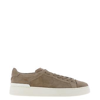 Fabi Fu8966 Men's Beige Suede Sneakers
