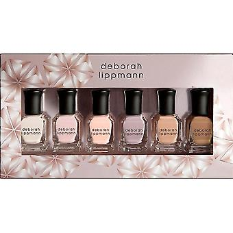 Deborah Lippmann Professional Mini Nail Lacquer Set - Undressed (6 X 8ml) (11451)