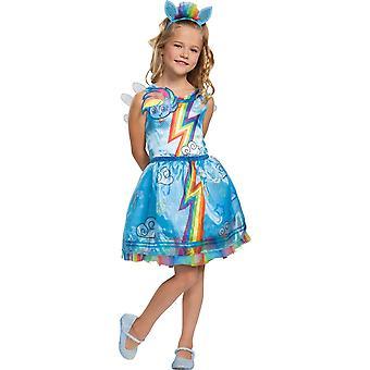 Girl's Rainbow Dash Classic Costume - My Little Pony