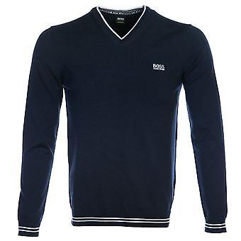 Boss Athleisure Vime V Neck Sweater Jumper 50378794 410