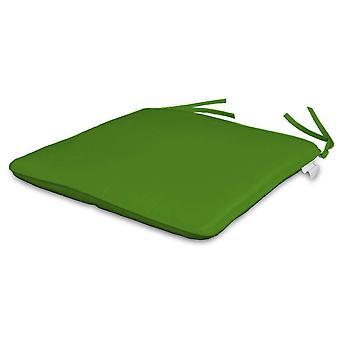 Paar Sitzkissen 35 x 35 cm anis grün