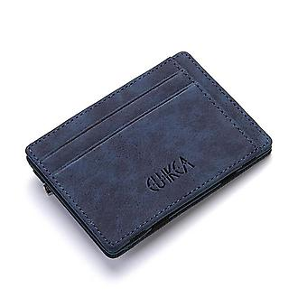 Upgrade Ultra Thin Mini Pu Leder Magic Wallets, Geldbörse, Kreditkarte