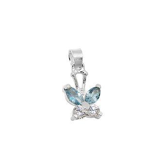 Anheng Butterfly Zirconia Sølv 925