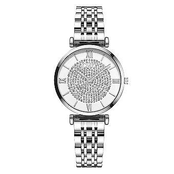 トップブランドファッションダイヤモンドラグジュアリークリスタル女性ブレスレット、腕時計