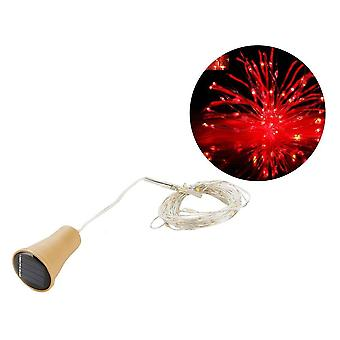 Led Solar Copper Cork String Lights For Decorating Wine Bottle
