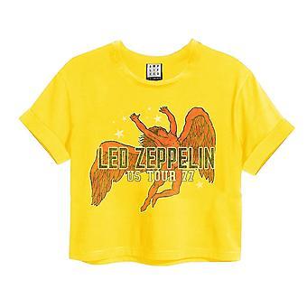 Amplified Led Zeppelin Icarus Crop Top