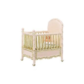 Pink Baby Bed