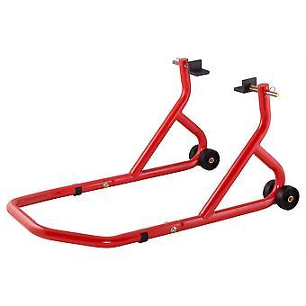 BikeTek Series 3 Rear Track Paddock Stand Red