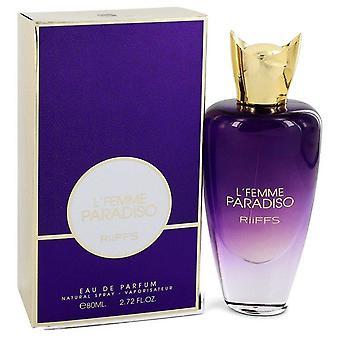 L'femme paradiso eau de parfum spray by riiffs 549276 80 ml