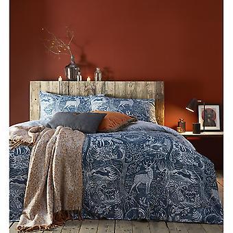 Creative Cloth Winter Woods Duvet and Pillowcase Set