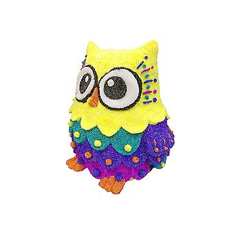 Cool create  owl pop art 3d sculpture