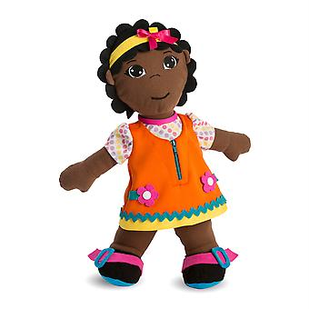 Multicultural Fastening Dolls, African Girl