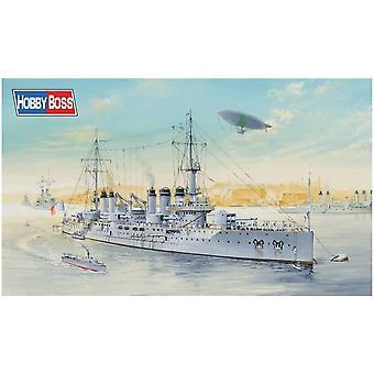 Hobbyboss 86504 1/350 FS French Navy Pre-Dreadnought Battleship Voltaire Plastic Model Kit, Various