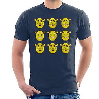 Shrek Character Heads Miesten't-paita