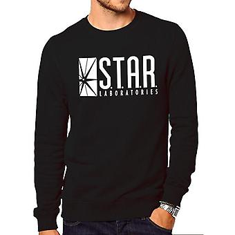The Flash Unisex Adult Star Labs Sweatshirt