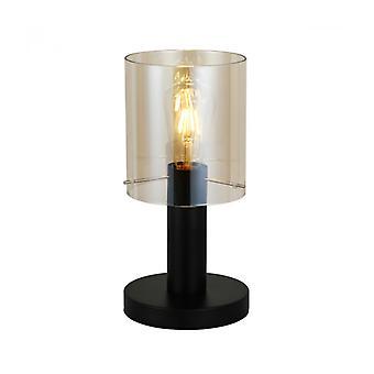 Lámpara De Escritorio Moderna Sardo Negro