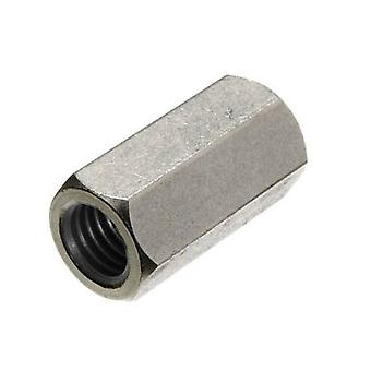 M16 Tiebar Connector - T316 Stainless Steel - Coupling Nut Din 6334