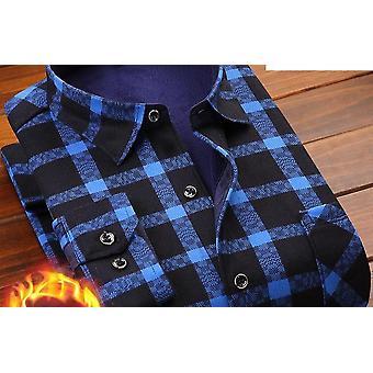 Soft Casual Flannel Warm Dress Shirt (Set 2)