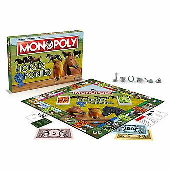 Monopoly horses and ponies edition board game