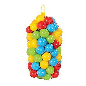 Pilsan bagno palla 06405, 100 palline di gioco colorate 6 cm di diametro imballato nella rete