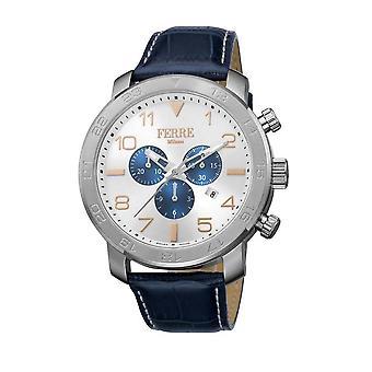 Ferre Milano Silver Dial Men's Watch FM1G061L0021