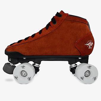 Prostar Suede Roller Skate, Quad Derby Boot