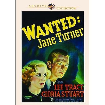 Wollte Jane Turner [DVD] USA import