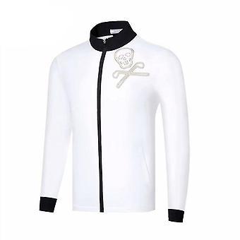 Golf Men's Autumn Winter Zipper Jacket