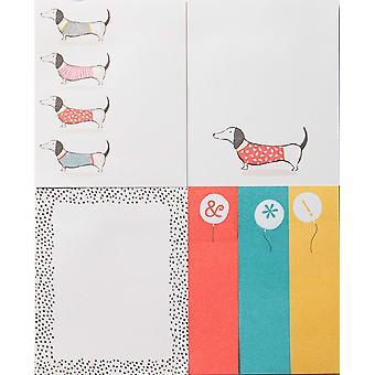 Artfile Frank saucisse chien Sticky Notes ensemble