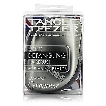 Tangle Teezer Compact Styler Mens' Compact Groomer Detangling Hair Brush (For Hair & Beards) 1pc