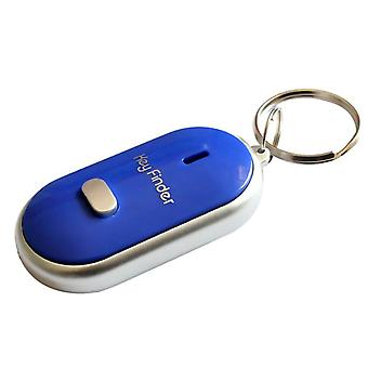 Led Key Finder Locator Find Lost Chain Keychain Whistle Sound Control