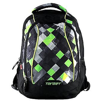 Target 16274 Children's Backpack, Green/Black/Grey