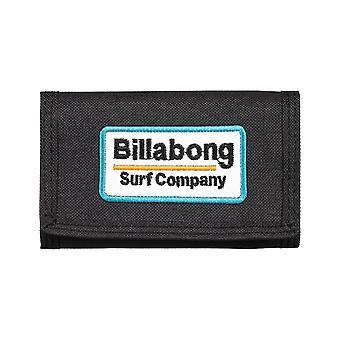 Billabong Walled Lite Polyester Wallet in Black