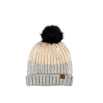 Animal Avora Bobble hatt i gråmelerad