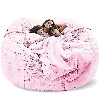 العملاقة كيس الفول أريكة تغطية كبيرة مريح رقيق الفراء Beanbag السرير الانزلاق