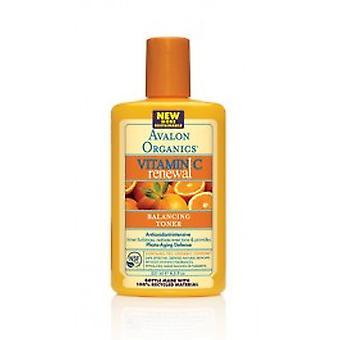 Avalon Organics - Vitamin C fornyelse - Balancing Facial Toner 250ml