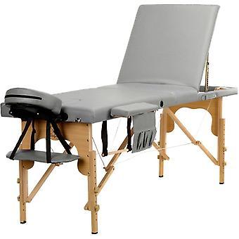 Hierontapöytä 3-osainen puinen hierontasänky