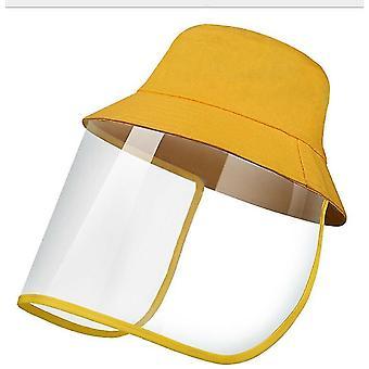 28Cm * 25 سم * 1 سم قبعة شمس صفراء في الهواء الطلق للرجال والنساء x5098
