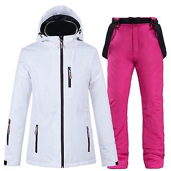 Women Windproof Jacket Sets, Winter Skiing_jackets