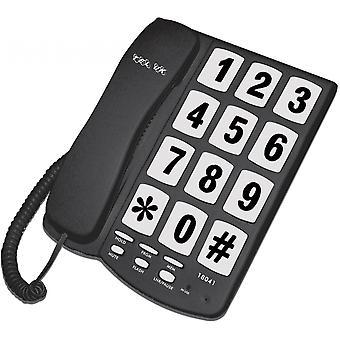 תל בריטניה כפתור גדול טלפון ניו יורקר שחור