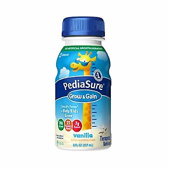 Abbott Nutrition Pediatric Oral Supplement / Tube Feeding Formula PediaSure Grow & Gain Vanilla Flavor 8 oz. Bottle , Case of 24