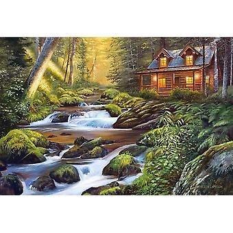 Castorland Creek Side Comfort Jigsaw Puzzle (1000 Pieces)