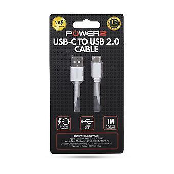 Powerz USB Type C Câble 1m - 2A