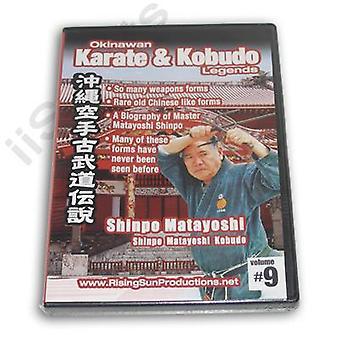 Okinawa Karaté Kobudo #9 Dvd Matayoshi -Vd6966A